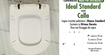 CALLA IDEAL STANDARD. I modelli originali