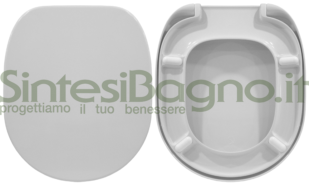 Copriwater. CONNECT. Ideal standard. ORIGINALE. Bianco