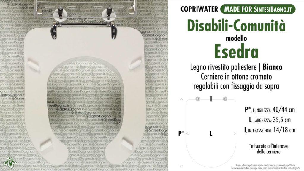 La serie esedra di ideal standard copriwater e cerniere di for Serie esedra ideal standard