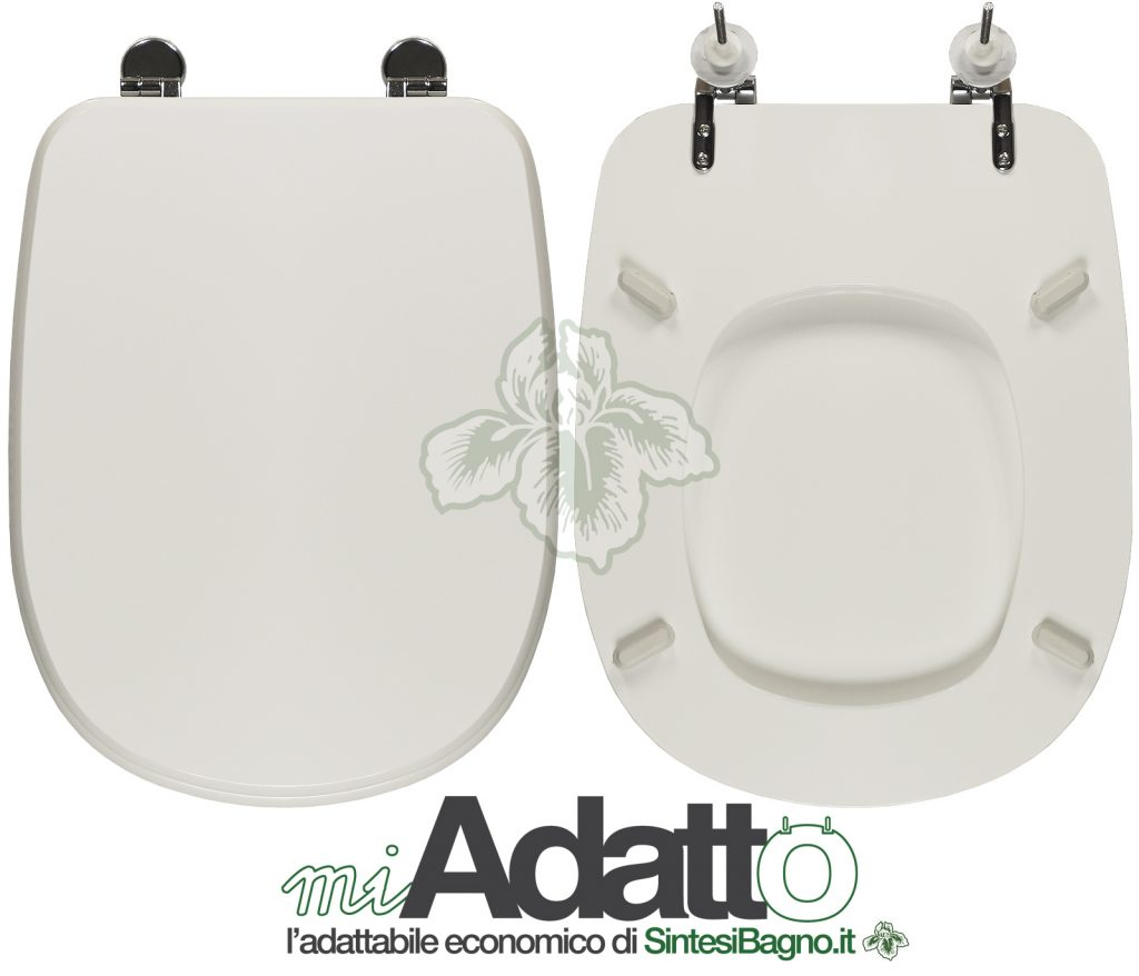 Copriwater. TESI. Ideal standard. Adattabile. BIANCO. Discount Quality