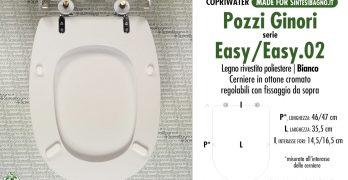 Serie Easy 02 Pozzi Ginori Sostituzione Del Copriwater Copriwater Sedili E Tavolette Wc Pronta Consegna Sconti Listino Offerte Settimanali