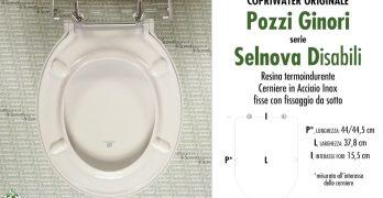 Pozzi Ginori Sedile Wc.Pozzi Ginori Ricambi Originali Copriwater Sedili E Tavolette