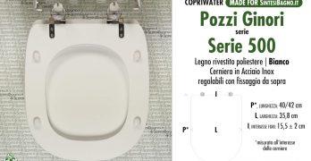 Sedile Copriwater Pozzi Ginori Serie 500.Serie Serie 500 Pozzi Ginori Sostituzione Del Copriwater