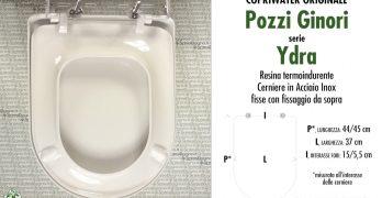 Sedile Copriwater Pozzi Ginori Serie 500.Pozzi Ginori Ricambi Originali Copriwater Sedili E Tavolette
