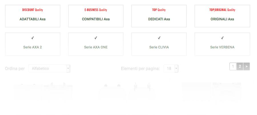 TUTTI i ricambi COPRIWATER per vasi marca AXA. Sostituzione ✓ AXA 2 ✓ AXA ONE ✓ CLIVIA ✓ CONTEA ✓ MIRTO ✓ ROND ✓ SCILLA ✓ SICILIA ✓ SMILE ✓ SYNUA ✓ VERBENA