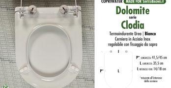 Serie Clodia Dolomite Sostituzione Del Copriwater Copriwater Sedili E Tavolette Wc Pronta Consegna Sconti Listino Offerte Settimanali