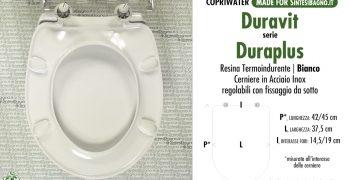 Cosa valutare prima di scegliere copriwater DURAPLUS DURAVIT di ricambio