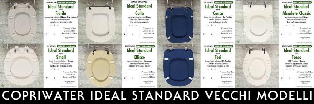 Sedile Wc Ideal Standard Serie Tesi.Copriwater Ideal Standard Vecchi Modelli Introvabili Fuori Produzione Copriwater Sedili E Tavolette Wc Pronta Consegna Sconti Listino Offerte Settimanali