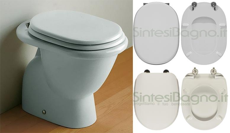Sedile Wc Ideal Standard Serie Tonda.La Serie Fiorile Di Ideal Standard Copriwater E Cerniere Di