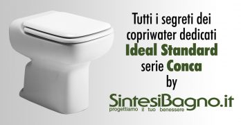 Conca ideal standard copriwater sedili e tavolette wc for Ideal standard conca visone