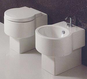 Serie Flow tonda ceramica Simas