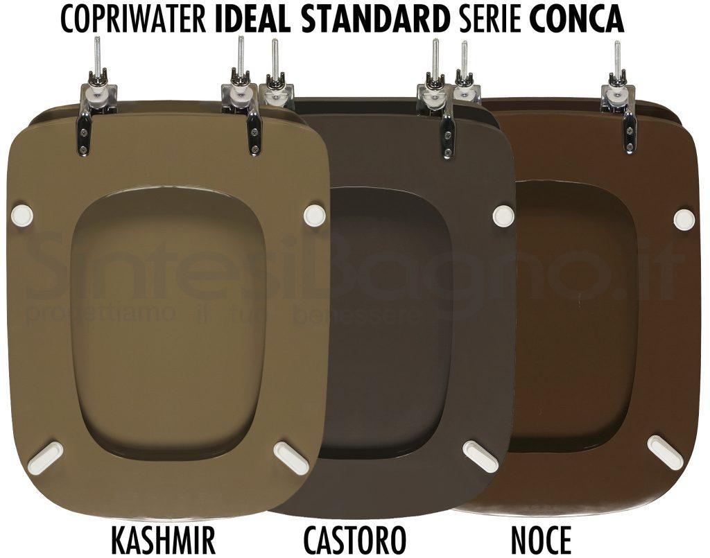 Copriwater Ideal Standard Conca il colore marrone