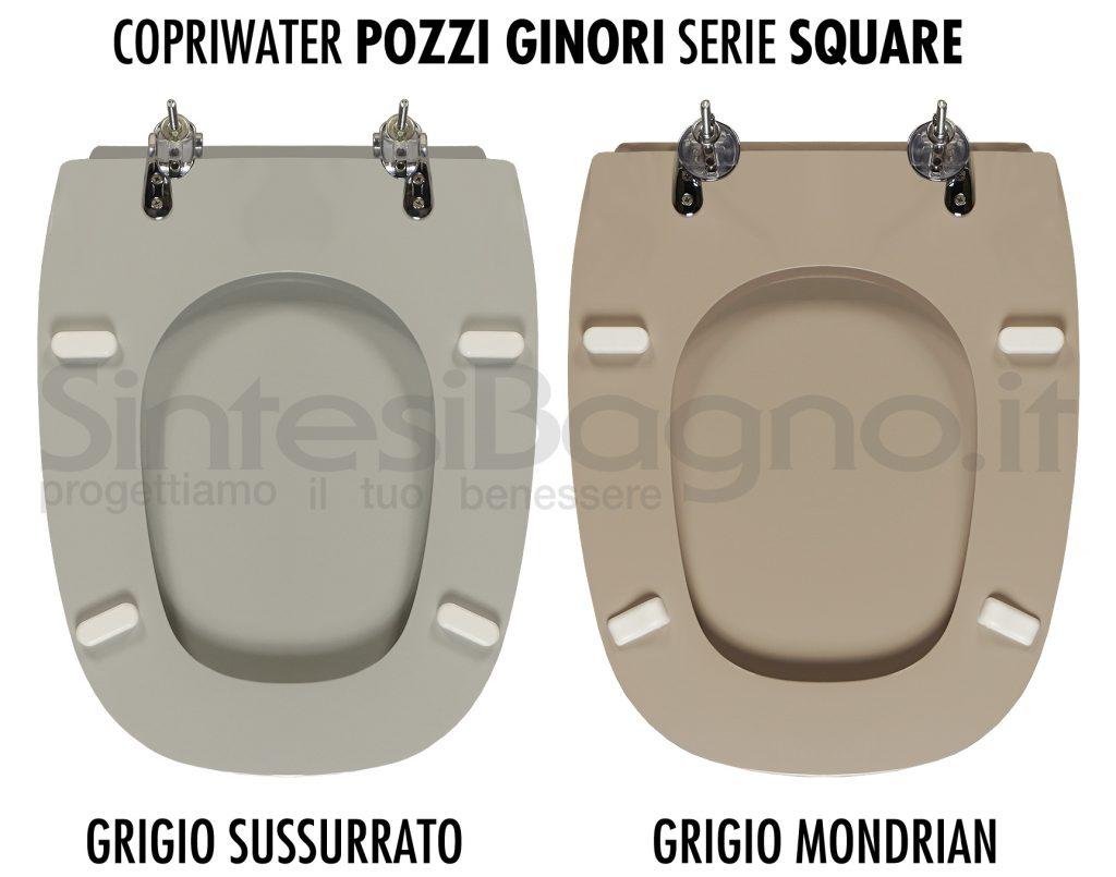 Pozzi Ginori Square varianti del grigio