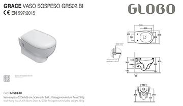 Serie GRACE ceramica Globo
