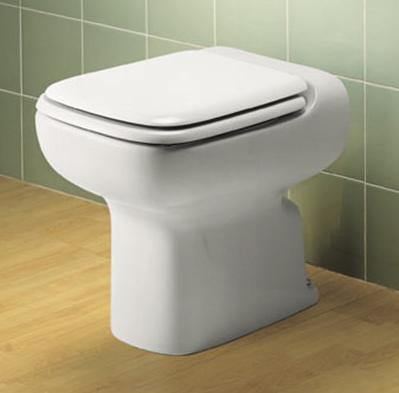 Serie CONCA Ideal Standard - la parte posteriore rialzata