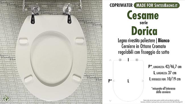 Cesame ceramiche - serie DORICA