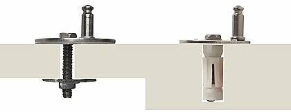 nuovo fissaggio chiamato losanga/ancoretta